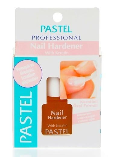 Pastel Pastel Keratinli Nail Hardener 13 ml Renkli